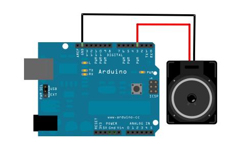 The Arduino schematic