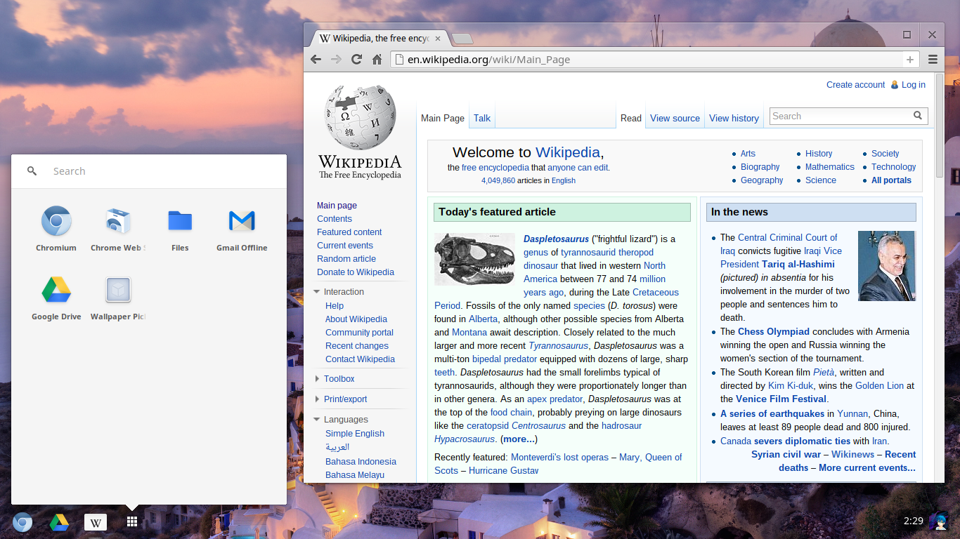 Chromium OS, like Chrome OS but better...
