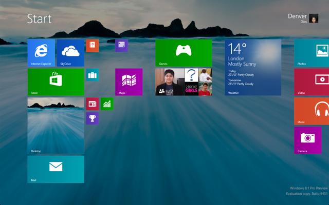 Windows 8.1 wallpaper