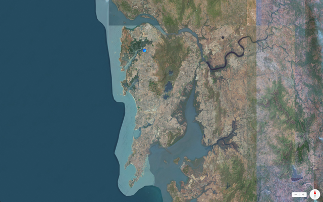 Maps of Mumbai - Satellite