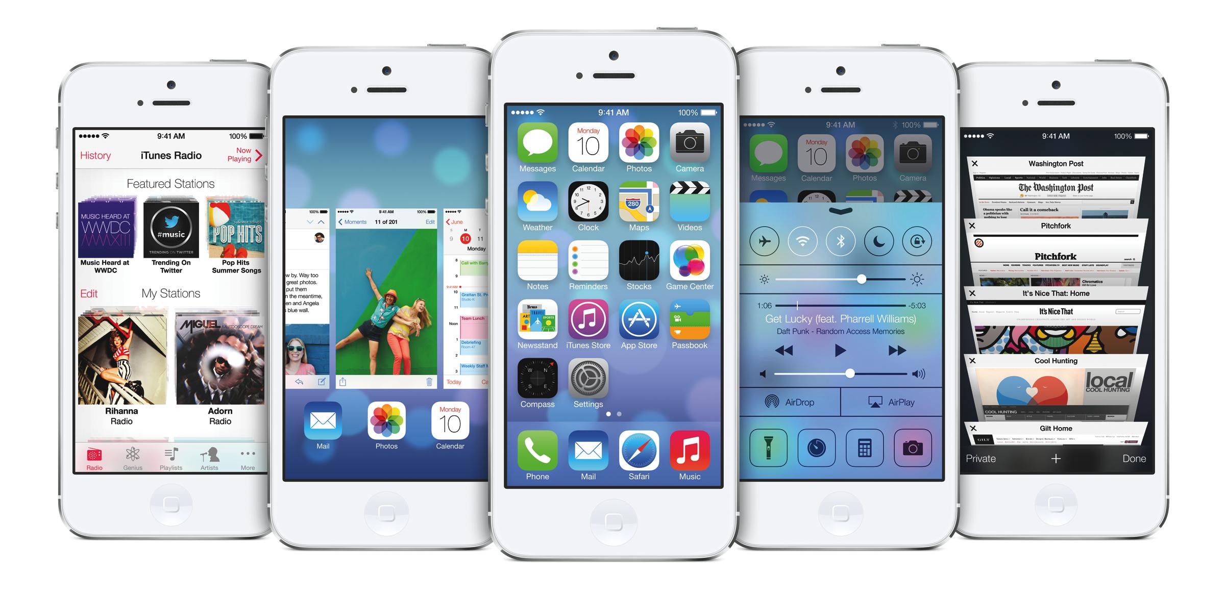 iOS 7 additions