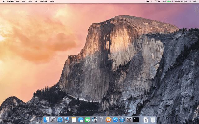 Yosemite Desktop